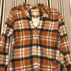 orange flannel